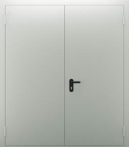Двупольная глухая дверь ДПМ 02/60 (EI 60) — №05 (NEW)
